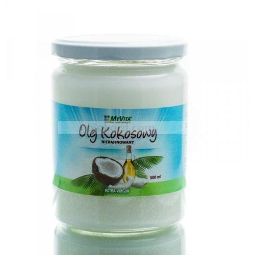 Proness myvita Olej (masło) kokosowy nierafinowany, tłoczony na zimno, myvita