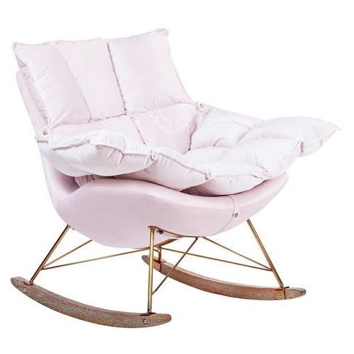 Fotel bujany swing velvet he325b-ay1908-30.lp - - sprawdź kupon rabatowy w koszyku marki King home