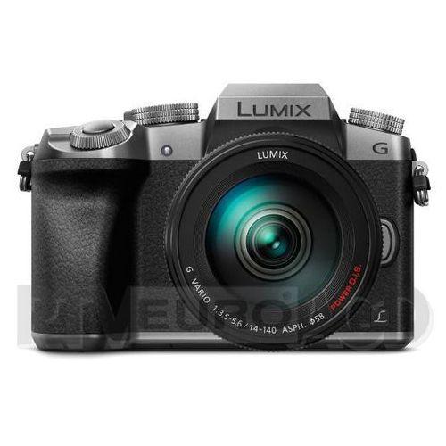 Panasonic Lumix DMC-G7 + 14-140 mm (srebrny)