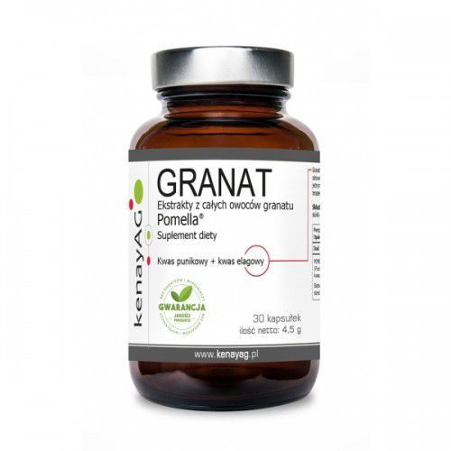 Kenayag Granat ekstrakty z całych owoców granatu pomella - 60 kaps.