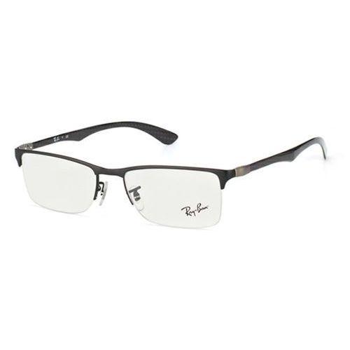 Ray-ban Okulary korekcyjne tech rx8413 carbon fibre 2503