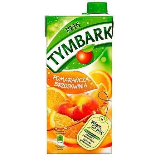 Tymbark Napój pomarańcza brzoskwinia 1 l (5900334000330)