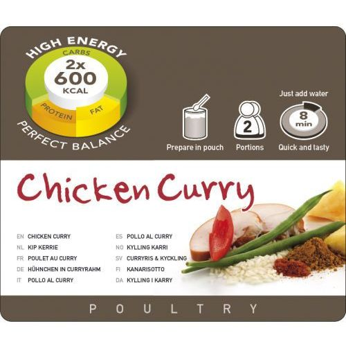 Adventure food Kurczak curry 291g (8717624622410)