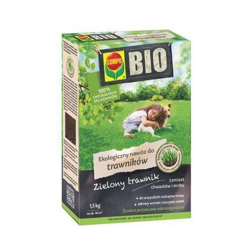 COMPO BIO ekologiczny nawóz do trawników, 1,5 kg (4008398521226)