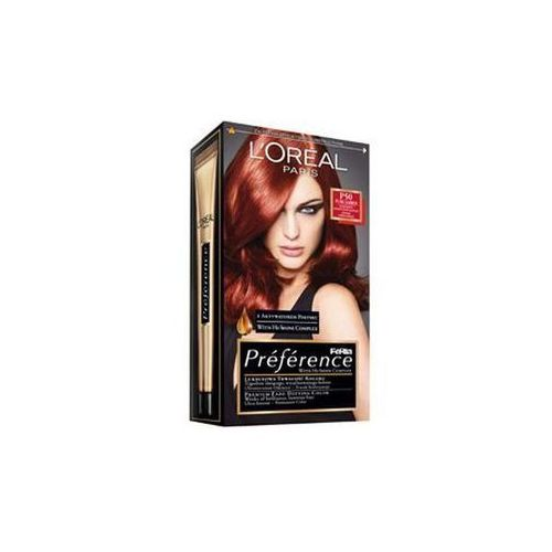 L'Oreal farba do włosów FERIA PREFERENCE, P50 intensywny bursztynowy kasztan