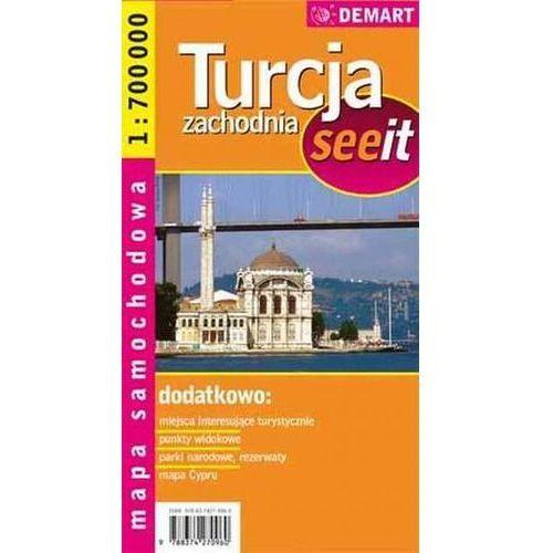 Turcja zachodnia see it - mapa samochodowa Praca zbiorowa (8374270969)