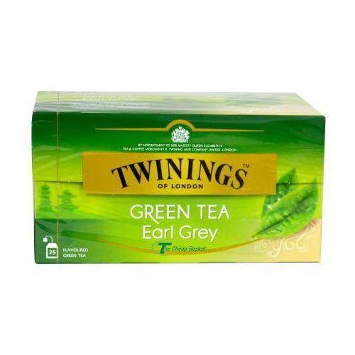 TWININGS Herbata ekspresowa Green Earl Grey 25 saszetek, 173