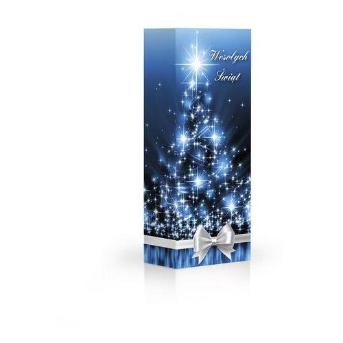 Czekoladki boże narodzenie niebieskie praliny z mlecznej czekolady z nadzieniem kakaowym, orzechowym i kawowym marki Belmarie