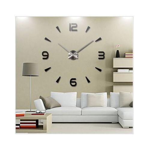 Ogromny Zegar Ścienny 3D (regulowana średnica od 70-150cm!!)., 5900308629134