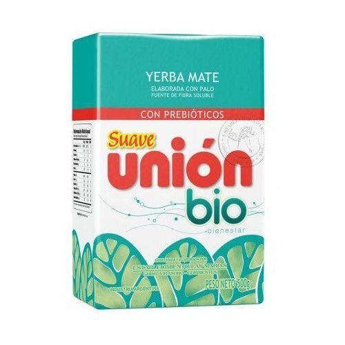 Yerba mate suave union bio z prebiotykami 500g marki Yerba mate taragui, argentyna