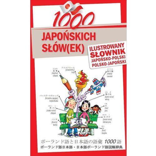 1000 japońskich słów(ek) Ilustrowany słownik japońsko-polski polsko-japoński (152 str.)