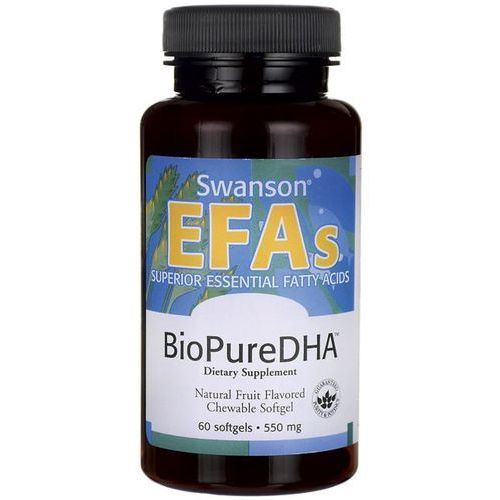 Kwasy DHA dla dzieci BioPure DHA 550mg 60 kapsułek SWANSON