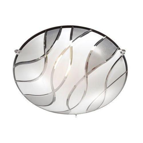Plafon naomi c29367yk-2 oprawa lampa sufitowa 1x60w e27 chrom marki Italux