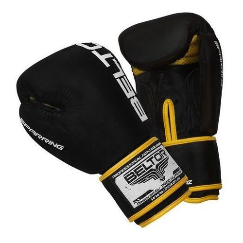 Beltor rękawice bokserskie Sparing 14oz czarne (2010000469149)