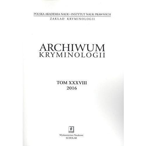 Archiwum kryminologii T XXVII - Praca zbiorowa (9770066689006)