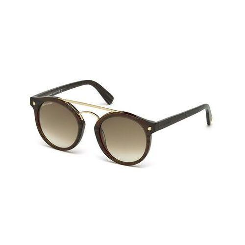 Okulary słoneczne dq0202 junior 50p marki Dsquared2