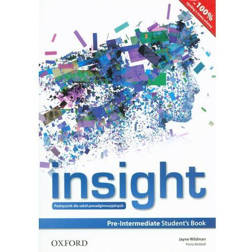Insight Pre-Intermediate Students Book (Ministry Approved) (Poland), oprawa miękka