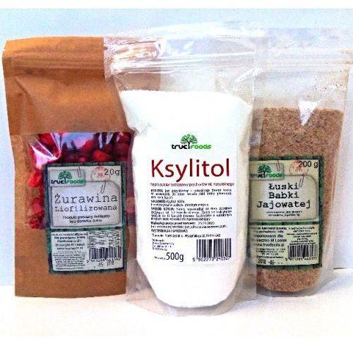 DIETA OXY (ksylitol 500g+ żurawina 20g+łuski babki jajowatej 200g)