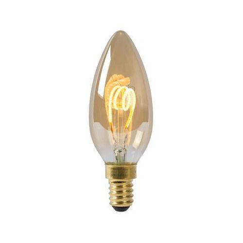 Żarówka świeca LED E14 3W, 2 200 K ściemniana
