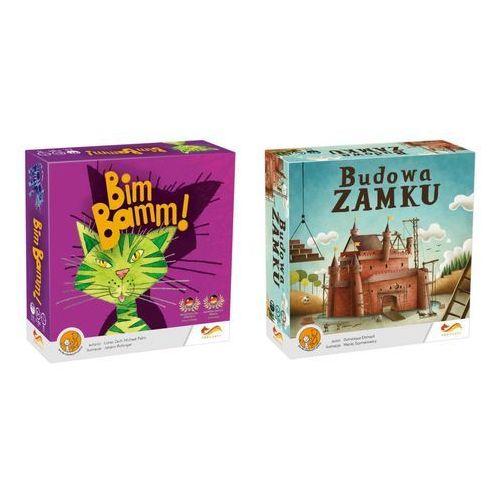 Foxgames Gra - bim bamm! + budowa zamku - pakiet