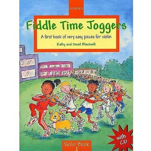 Pwm blackwell kathy, david - fiddle time joggers. violin book 1 (utwory na skrzypce + cd)
