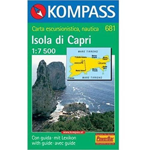 Isola di Capri 681 - mapa 1:7 500 neuveden (9783854912743)