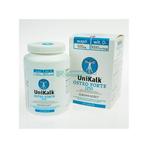 Unikalk Osteo Forte x 120 tabl., produkt z kategorii- Leki na osteoporozę