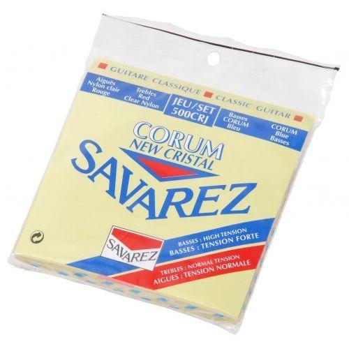 Savarez (656147) 500crj corum new cristal struny do gitary klasycznej