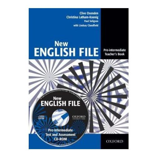 New English File Pre-intermediate Teachers Book Pack (CD-ROM) (9780194518888)