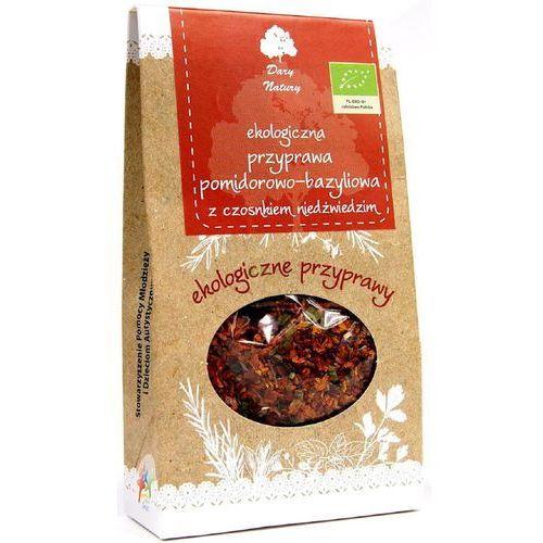 Eko p. pomidorowo-bazyliowa z czosnkiem niedźwiedzim 40 g marki Dary natury