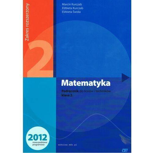 Matematyka 2 Podręcznik Zakres Rozszerzony, oprawa miękka