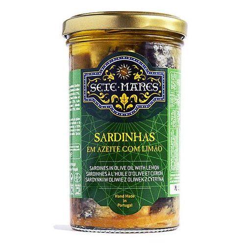 Sete mares Sardynki w oliwie z oliwek z cytryną 250g