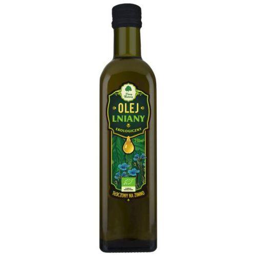 Dary natury - inne bio Olej lniany virgin bio 250 ml - dary natury