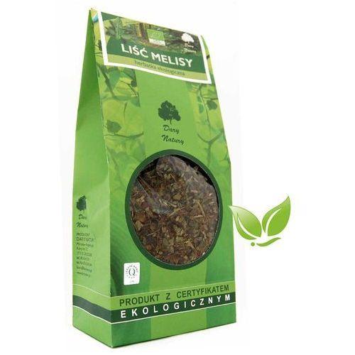 Dary natury - herbatki bio Herbatka liść melisy bio 100 g melisa dary natury