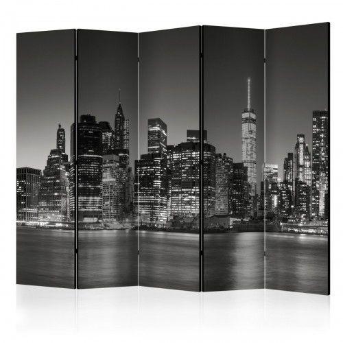 Parawan 5-częściowy - nowojorskie noce ii [room dividers] marki Artgeist