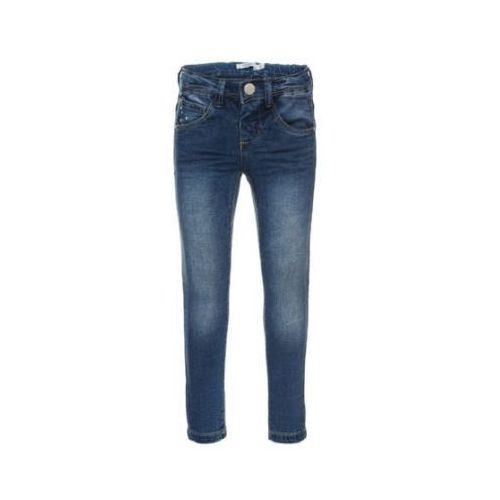 girls spodnie jeans bawarm light blue denim marki Name it