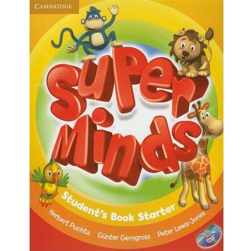 Super Minds Starter Student's Book (podręcznik) with DVD-ROM, praca zbiorowa