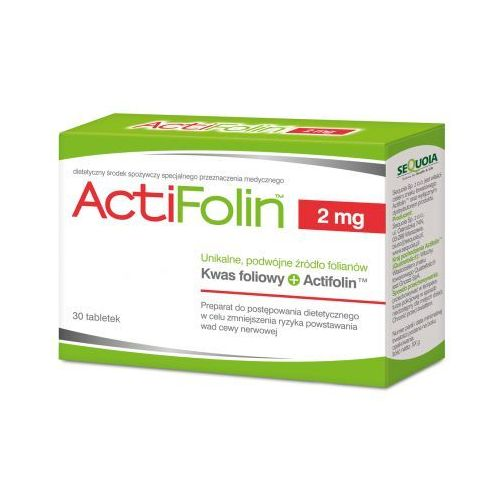 Tabletki ActiFolin 2mg x 30 tabletek