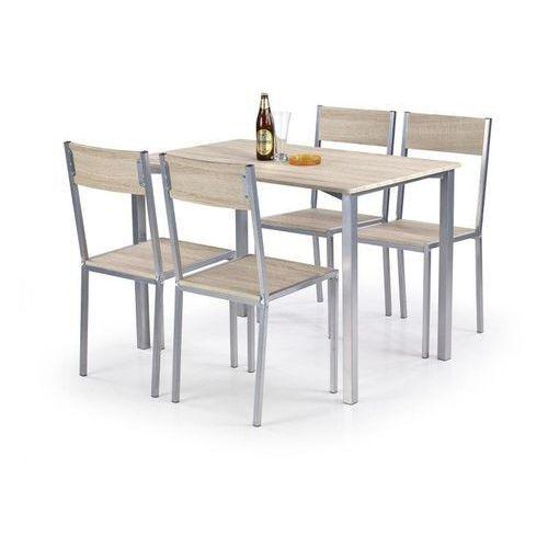 Zestaw HALMAR RALPH stół + 4 krzesła, marki Halmar do zakupu w ErgoExpert.pl