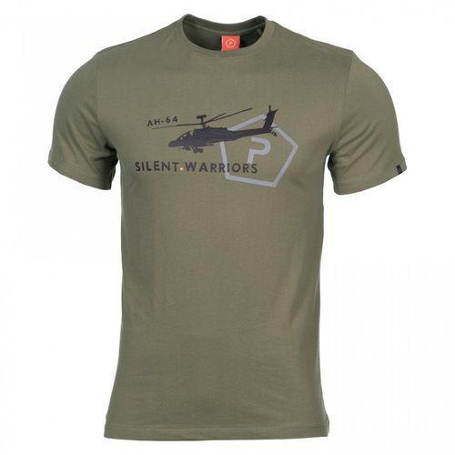 Koszulka t-shirt ageron helicopter, olive (k09012-he-06) - olive marki Pentagon