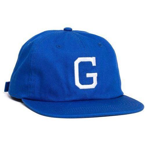 czapka z daszkiem GRIZZLY - Coliseum G Polo Strapback Blue (BLU) rozmiar: OS, kolor niebieski