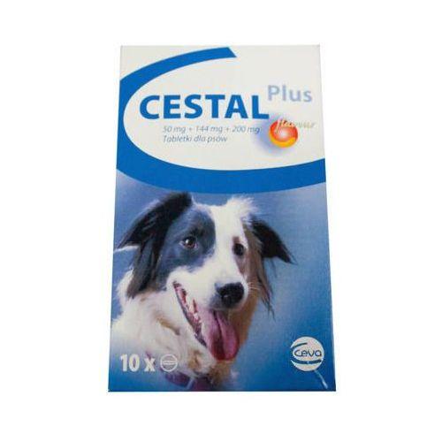 Cestal Dog Plus Flavour tabletki na odrobaczanie psów 2 sztuki od ZooArt