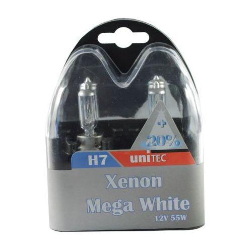 Żarówka Unitec H7 mega white xenon, 91209