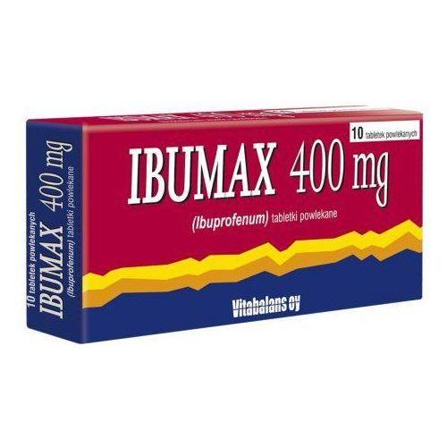 Vitabalans Ibumax 400mg x 10 tabletek, kategoria: pozostałe zdrowie