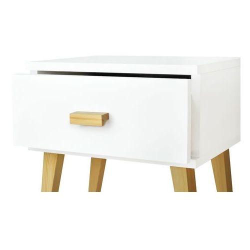 Nowoczesna szafka nocna drewniana savona marki Magnat - producent mebli drewnianych i materacy