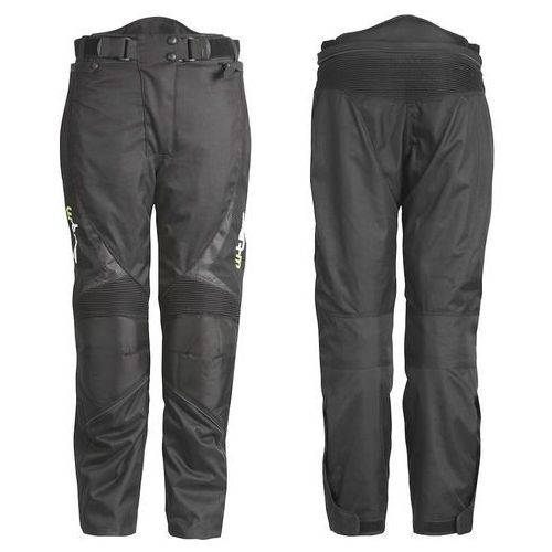 Uniwersalne motocyklowe spodnie W-TEC Mihos, Czarny, L (8595153648879)