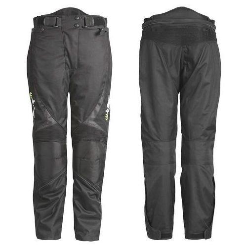 Uniwersalne motocyklowe spodnie W-TEC Mihos, Czarny, L, kolor czarny