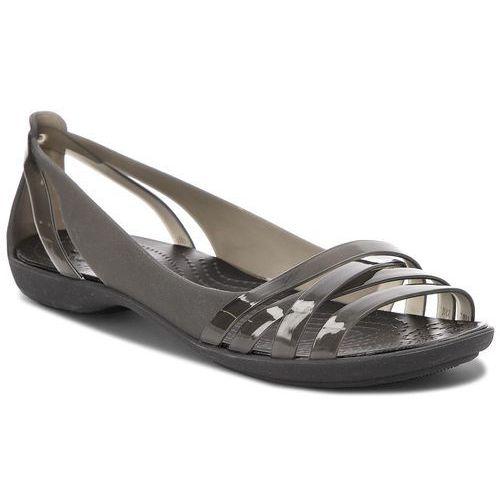Sandały - isabella huarche 2 flat w 204912 black/black marki Crocs