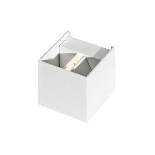 Azzardo Gambino white lc8005 lampa kinkiet led white