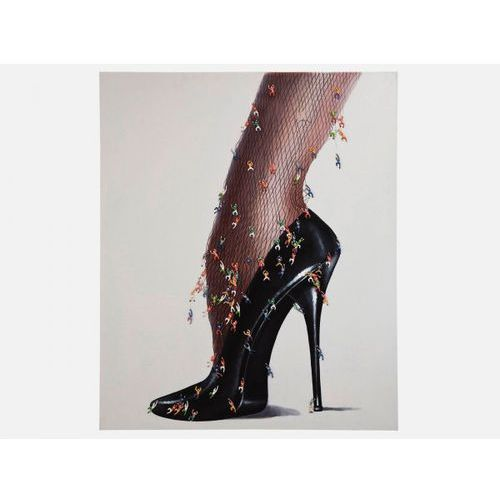 Obraz Rebellion Stiletto Kare Design 33054 (obraz)